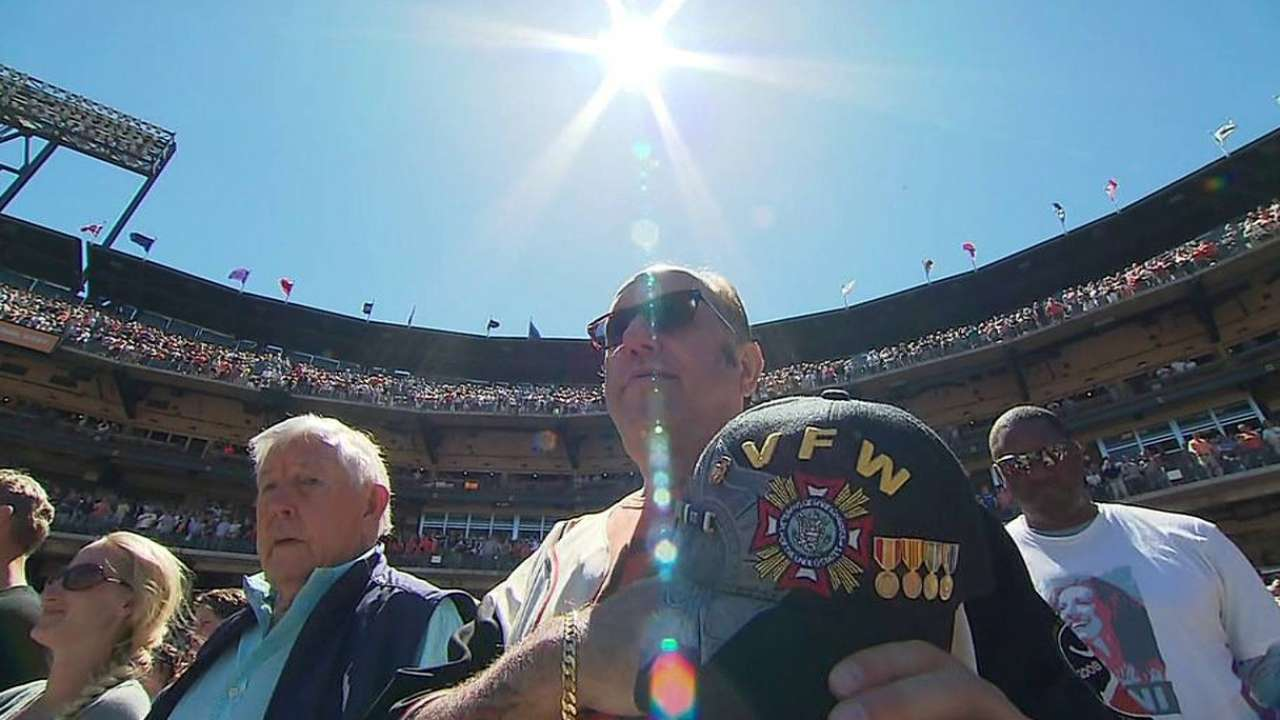 Memorial Day has special significance to Bochy