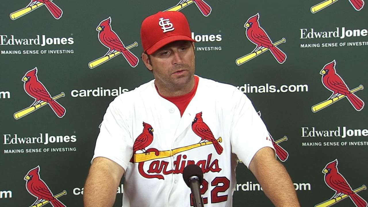 Matheny confident bats will grind out of funk