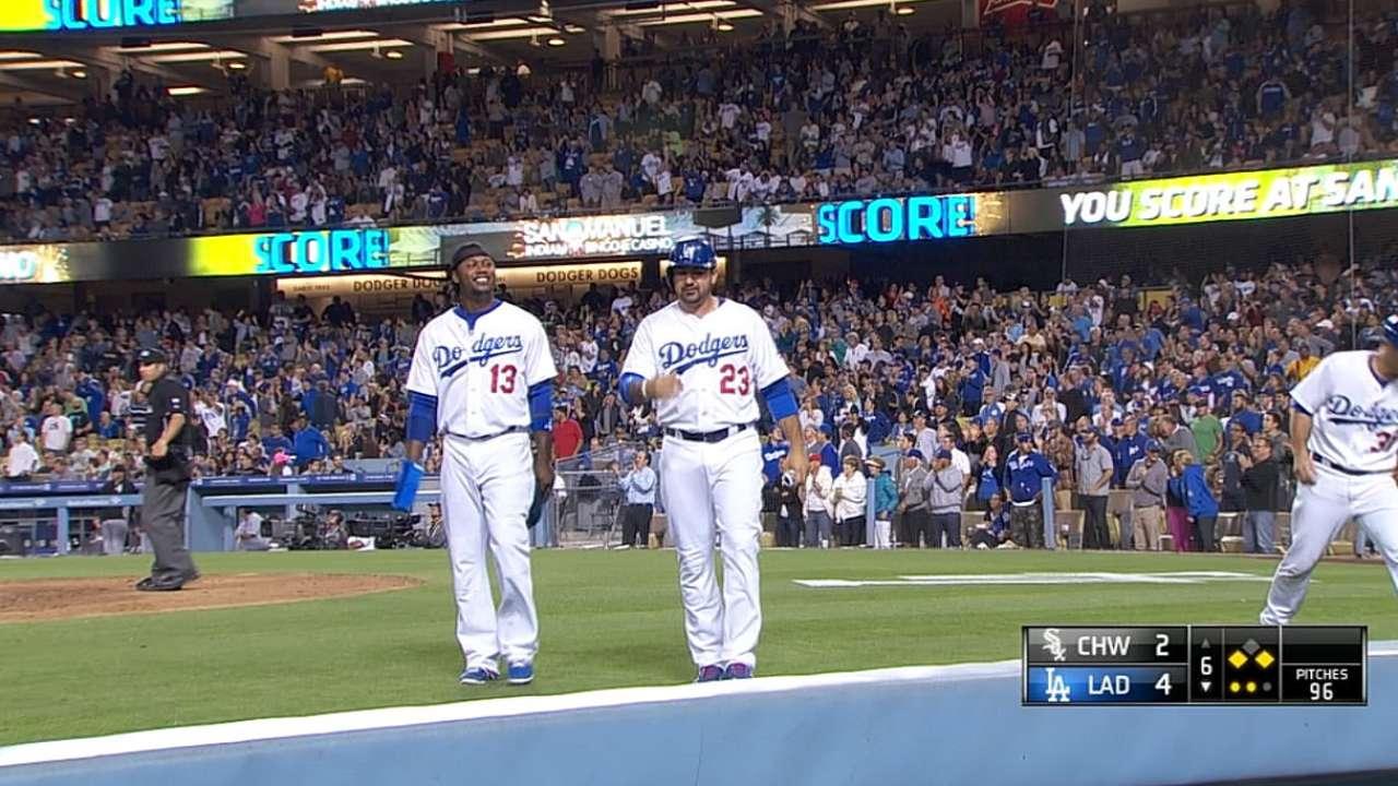 Dodgers arruinaron regreso de Abreu con White Sox