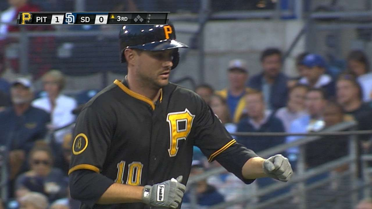 Mercer leads Pirates' plunder in San Diego