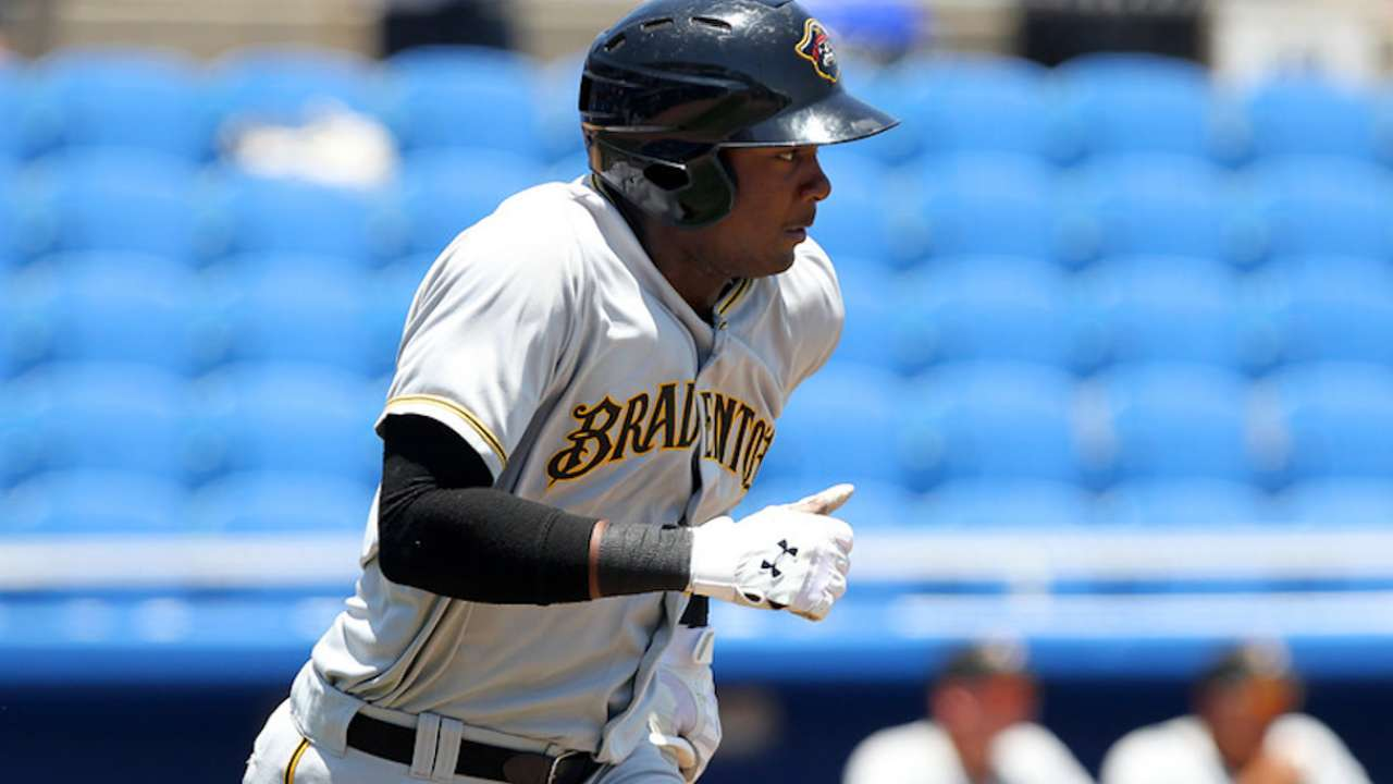 Powerful Bell could add some pop to Pirates' outfield