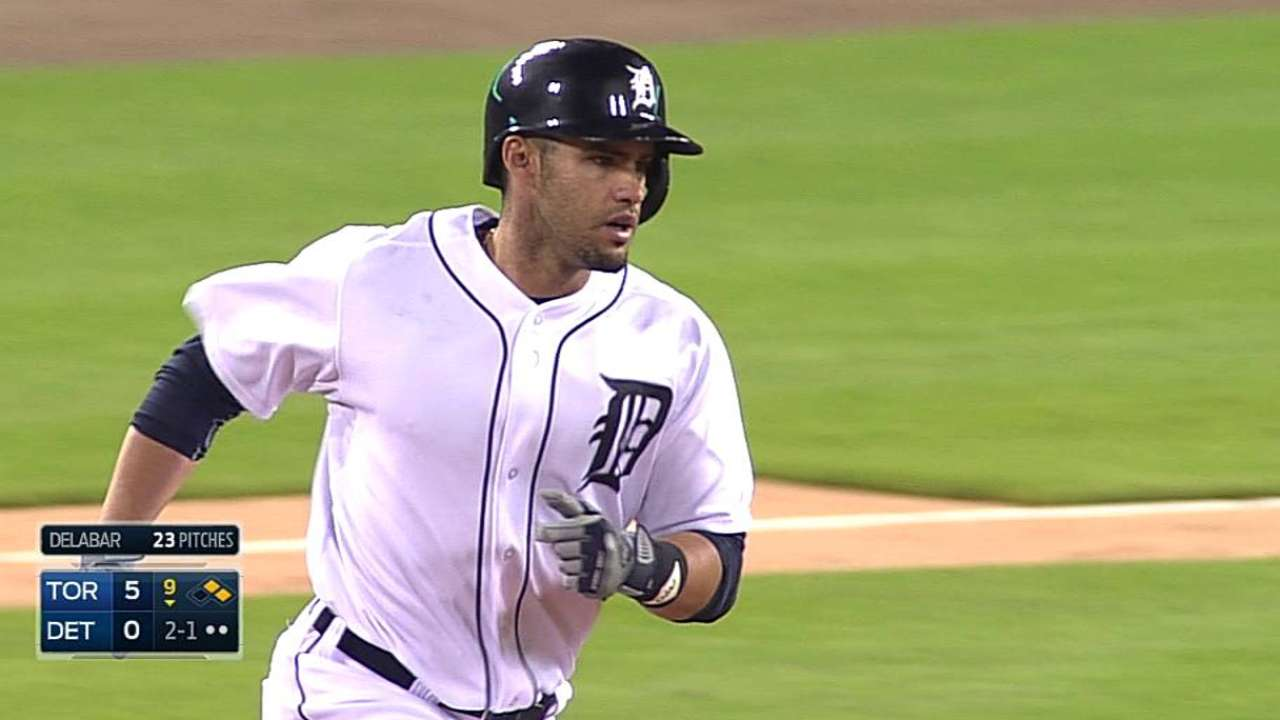 In need of some pop, Tigers stick with J.D.