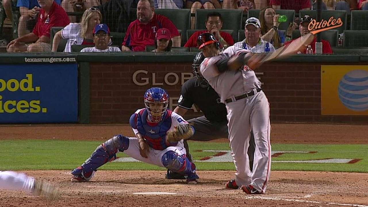 Cruz vuelve a Texas y Orioles apabullan a Rangers