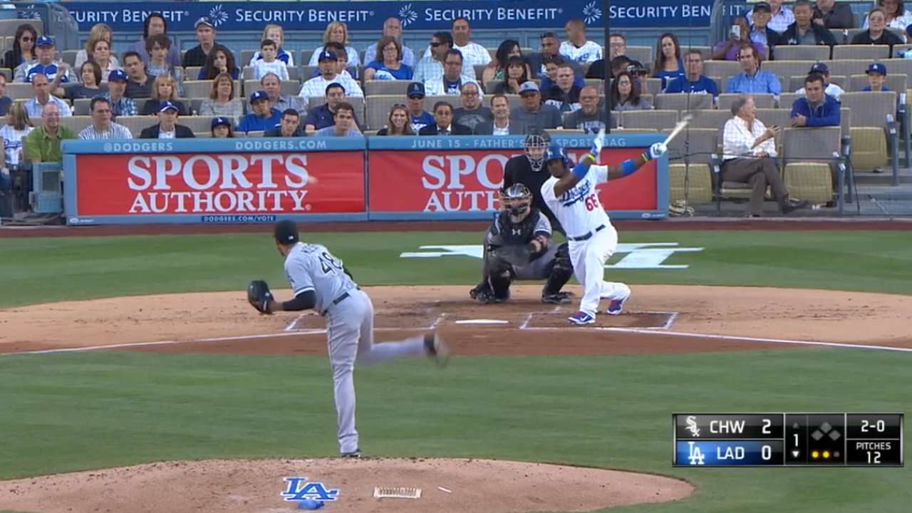 Abreu hits mistakes -- and much more