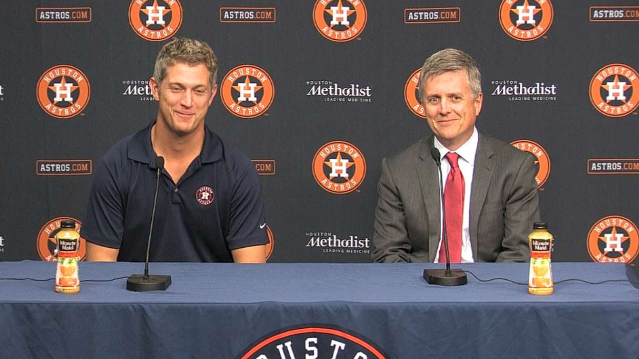 Astros in search of cornerstone player in Draft