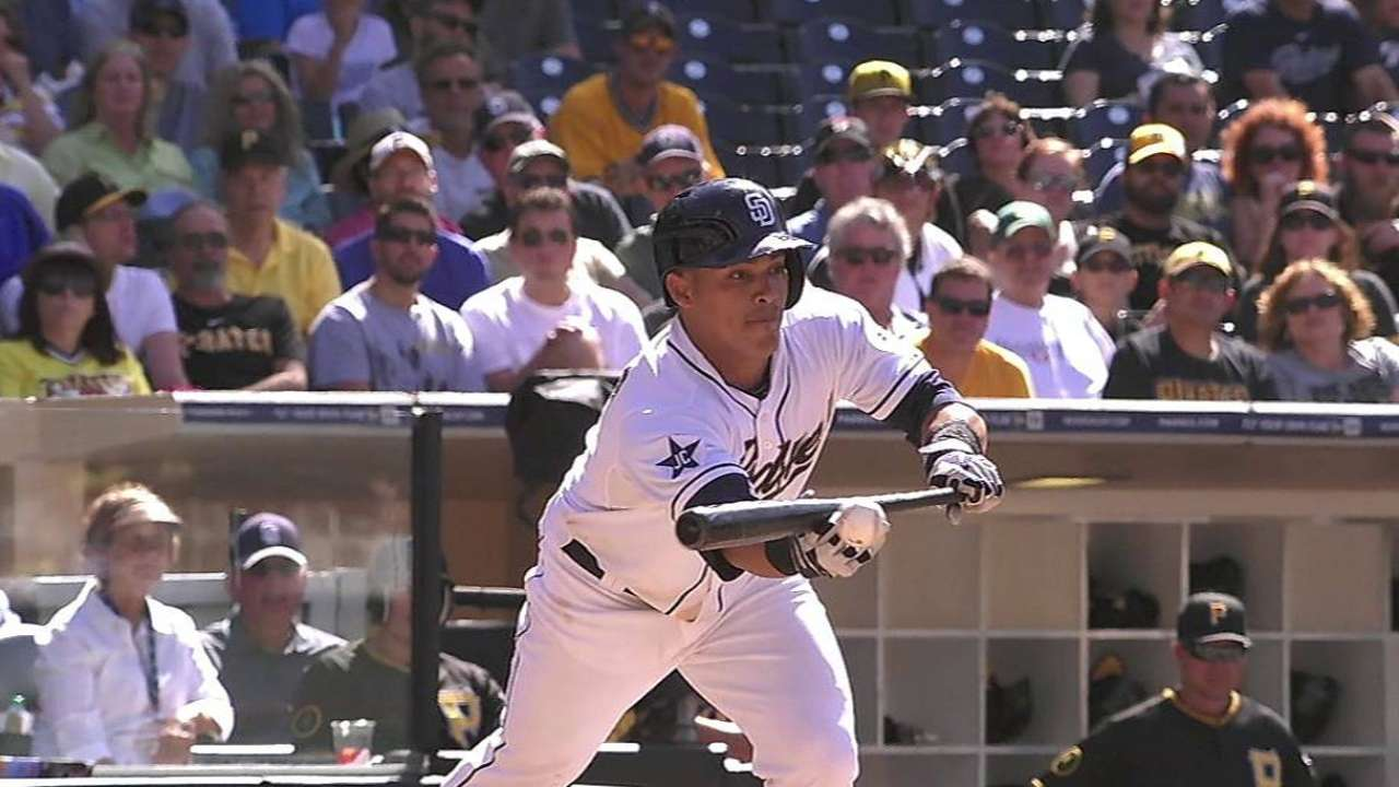 Seeking spark, Padres drop Everth to No. 8 spot