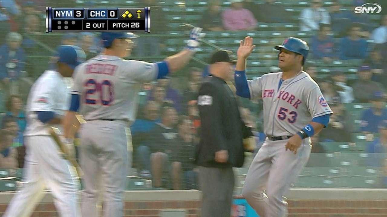 Missed opportunities hurt Mets in Chicago