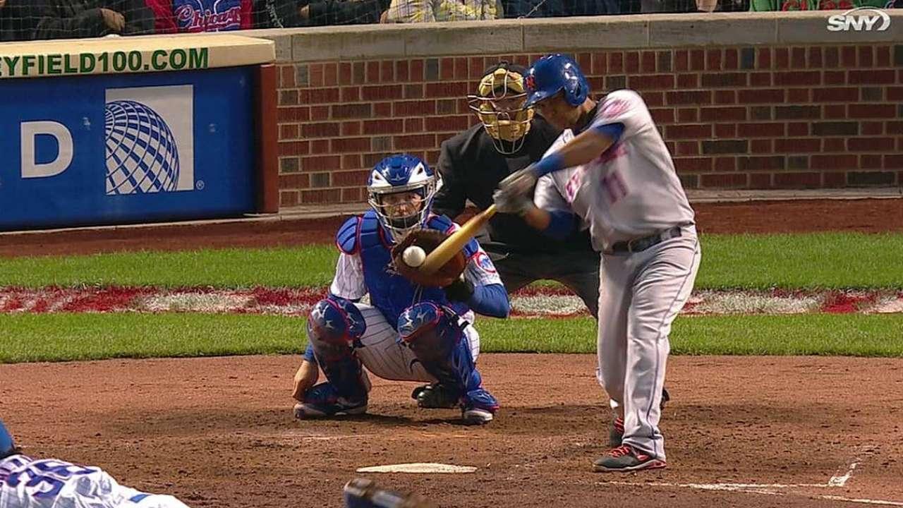 Mets desaprovecharon oportunidades en Chicago