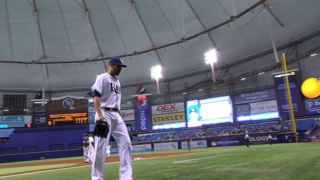 Missteps prove costly in Rays' ninth straight loss