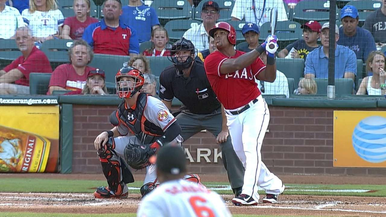Beltre's two home-run night not enough vs. Orioles