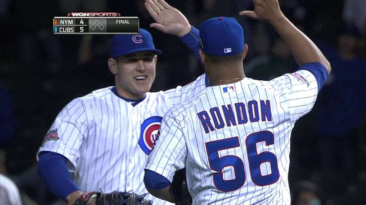 Rondon's health priority for cautious Cubs