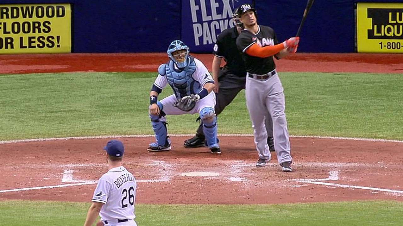 Lineup, not pitching, drives contending Marlins
