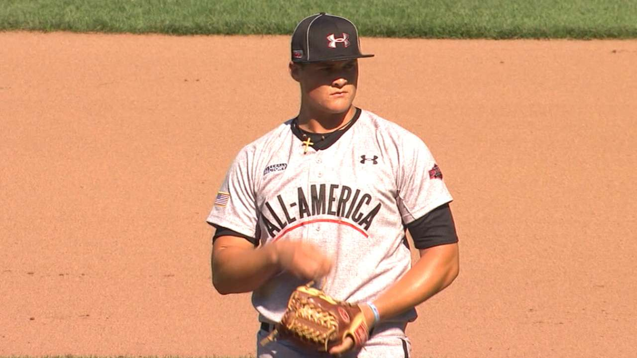 New draftee Kolek joins Heaney atop Marlins' Top 20