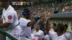 Astros squeeze by Angels to take series victory