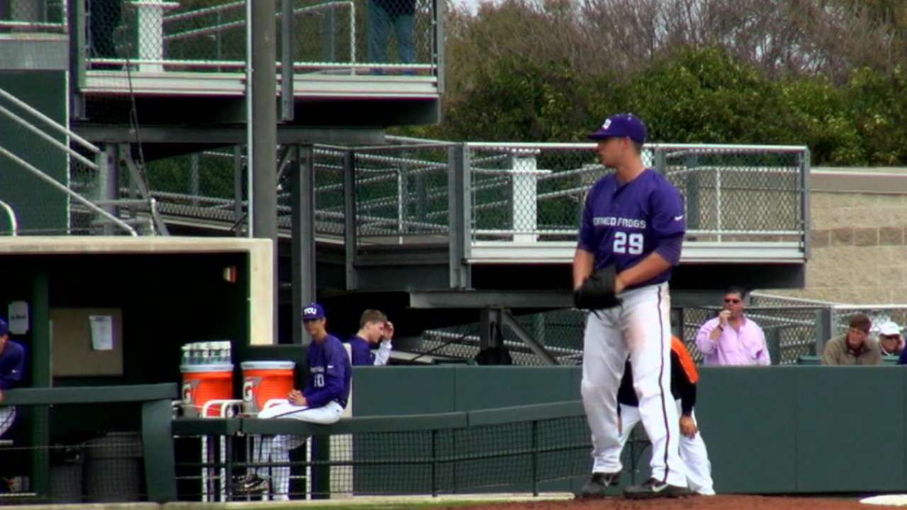 Royals draft TCU lefty Finnegan with first pick