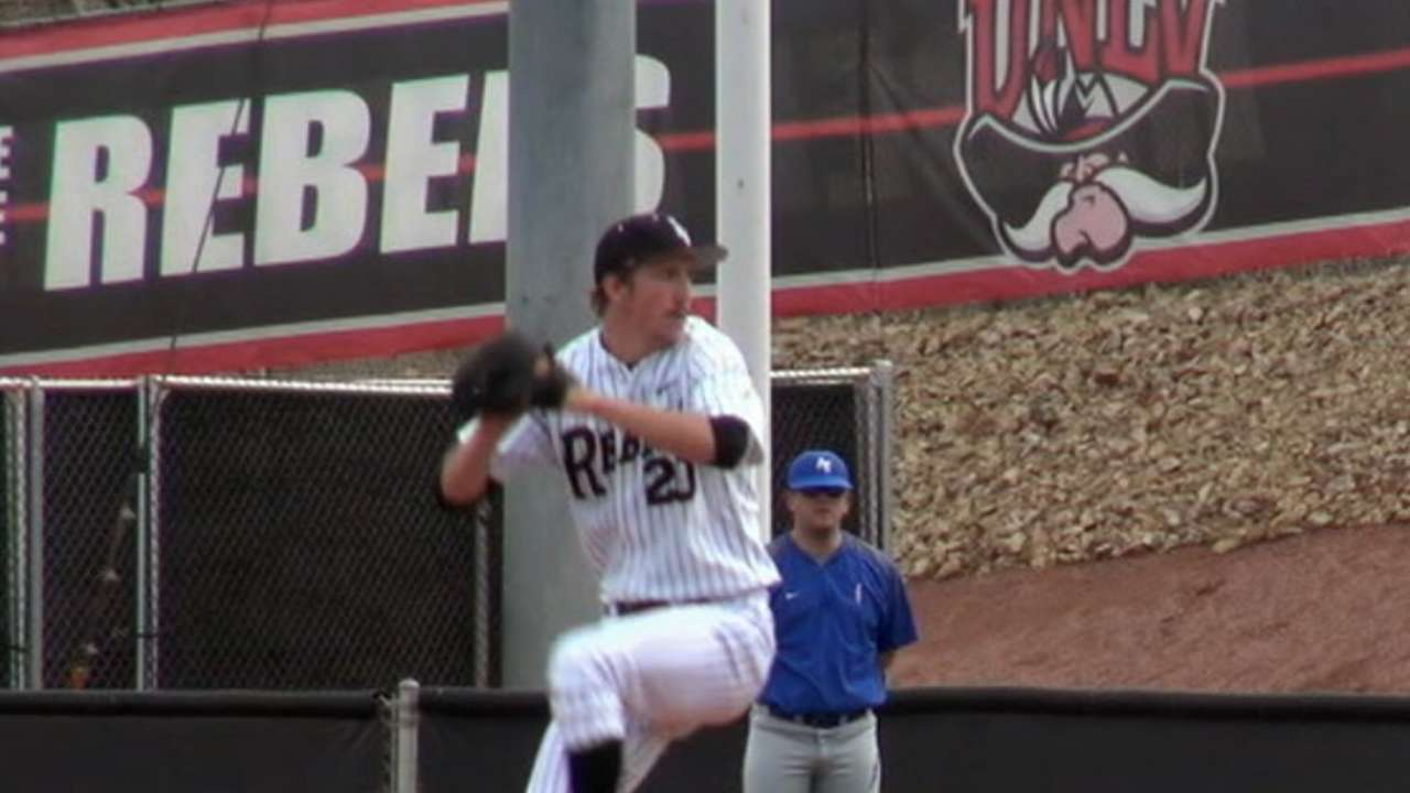 With No. 18 pick, Nats take UNLV righty Fedde