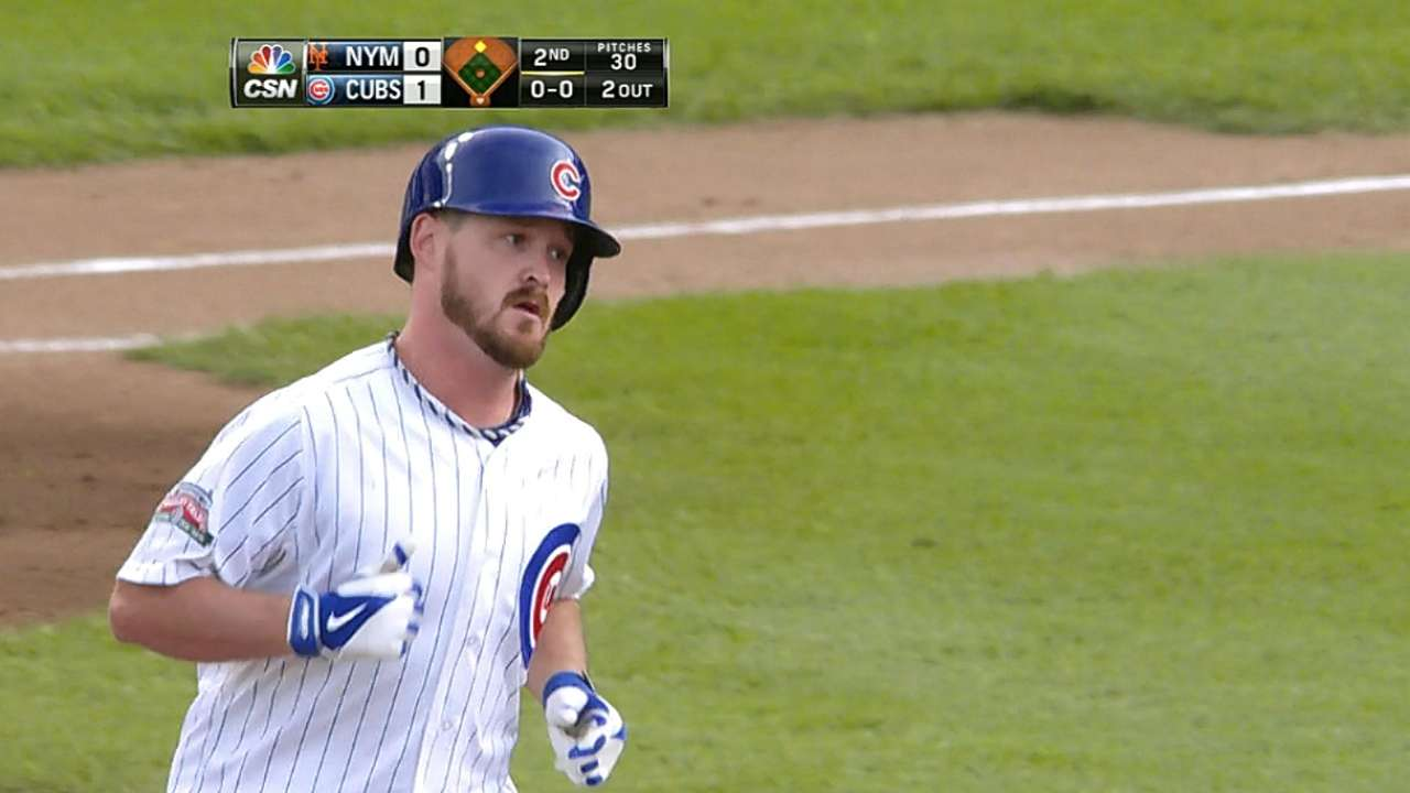 Wood helps himself as Rizzo lifts Cubs to sweep
