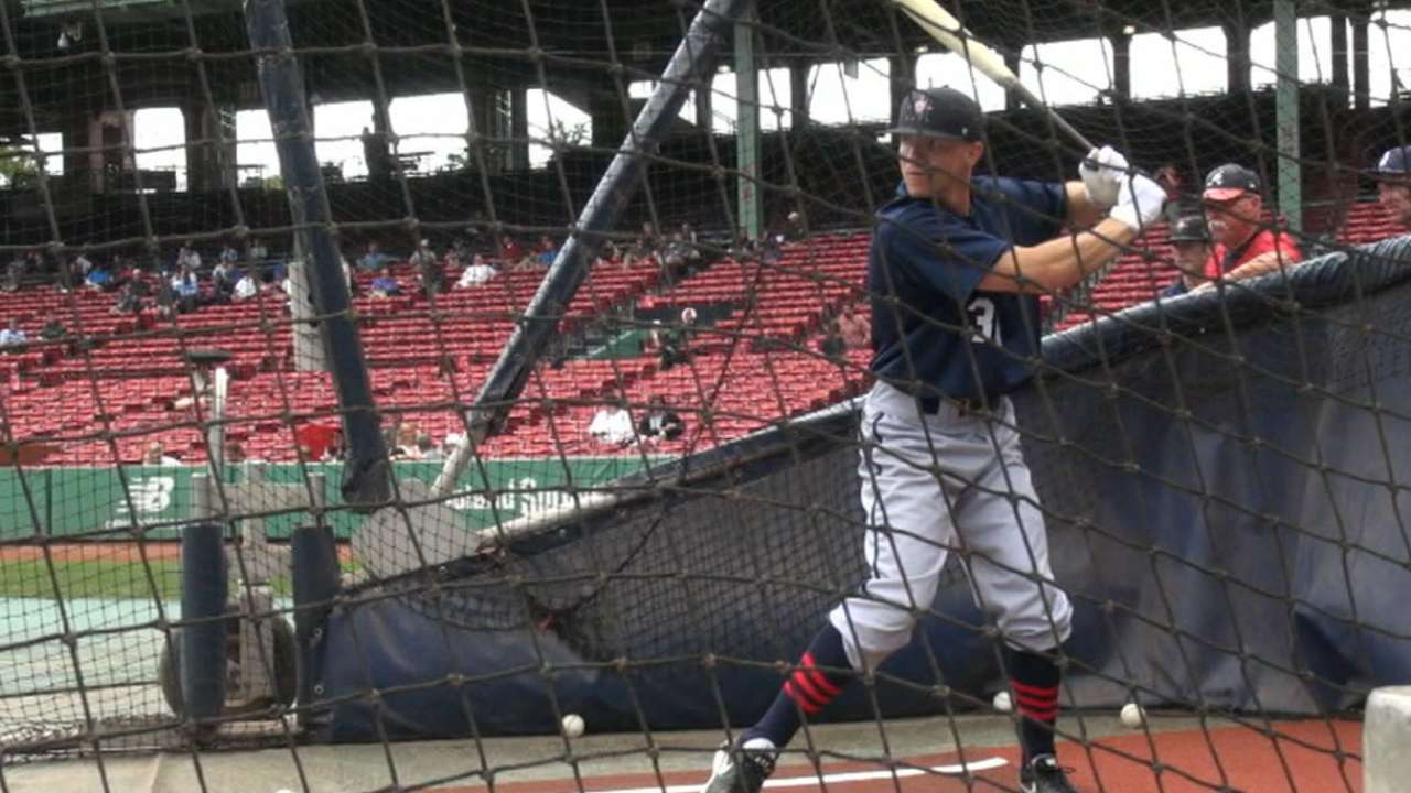 Astros prospect Fisher makes professional debut