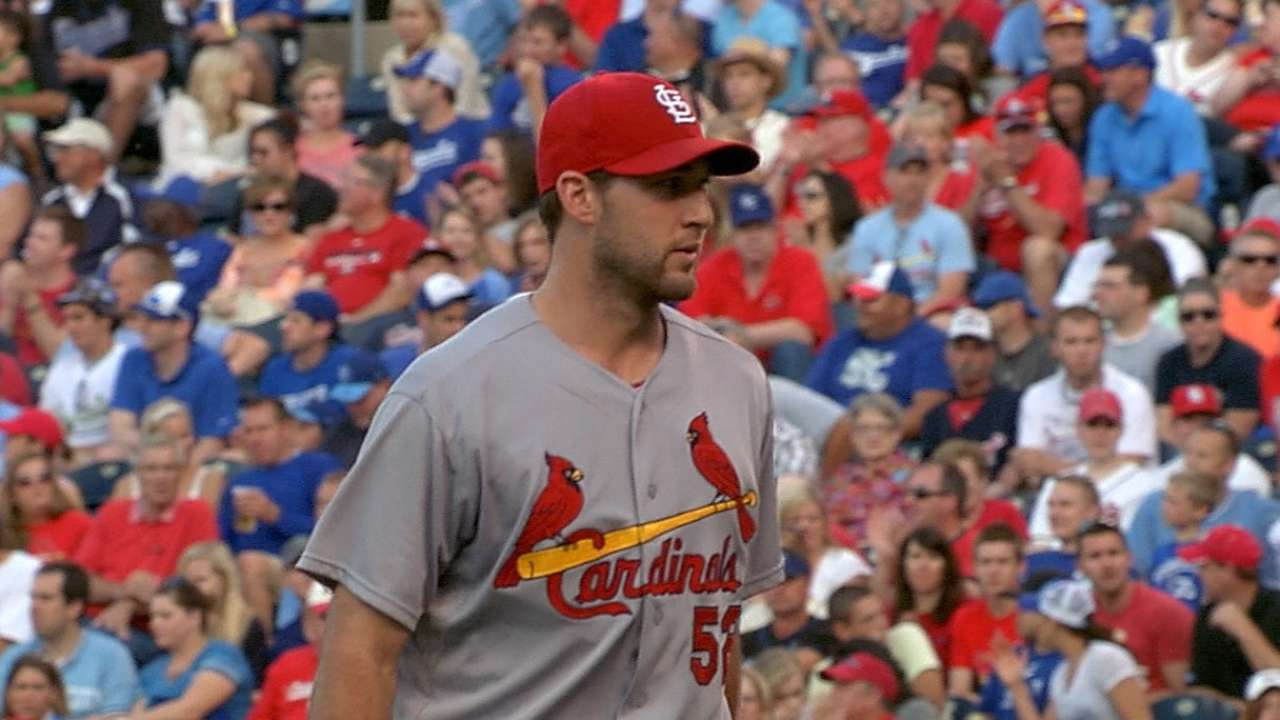 Wacha, Yadi making progress in rehab stints