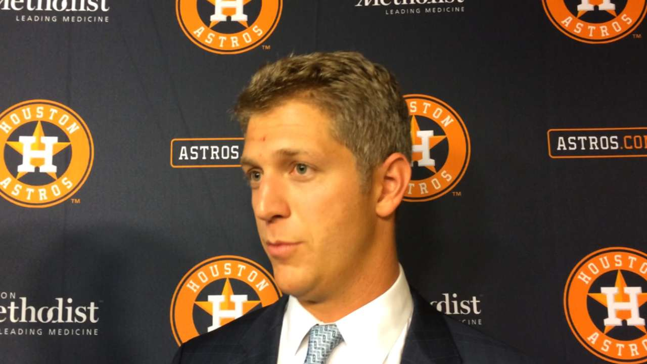 Astros bursting at seams with confidence