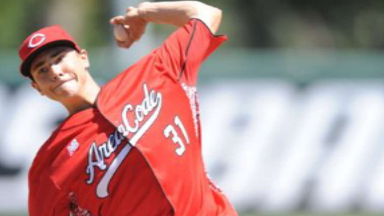 Rays take high school lefty Burke in third round