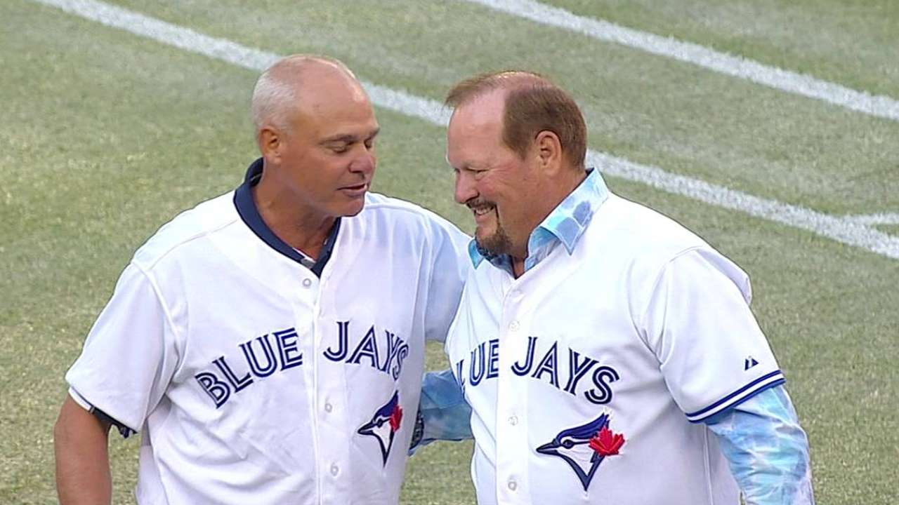 Key-Whitt battery reunites at Rogers Centre