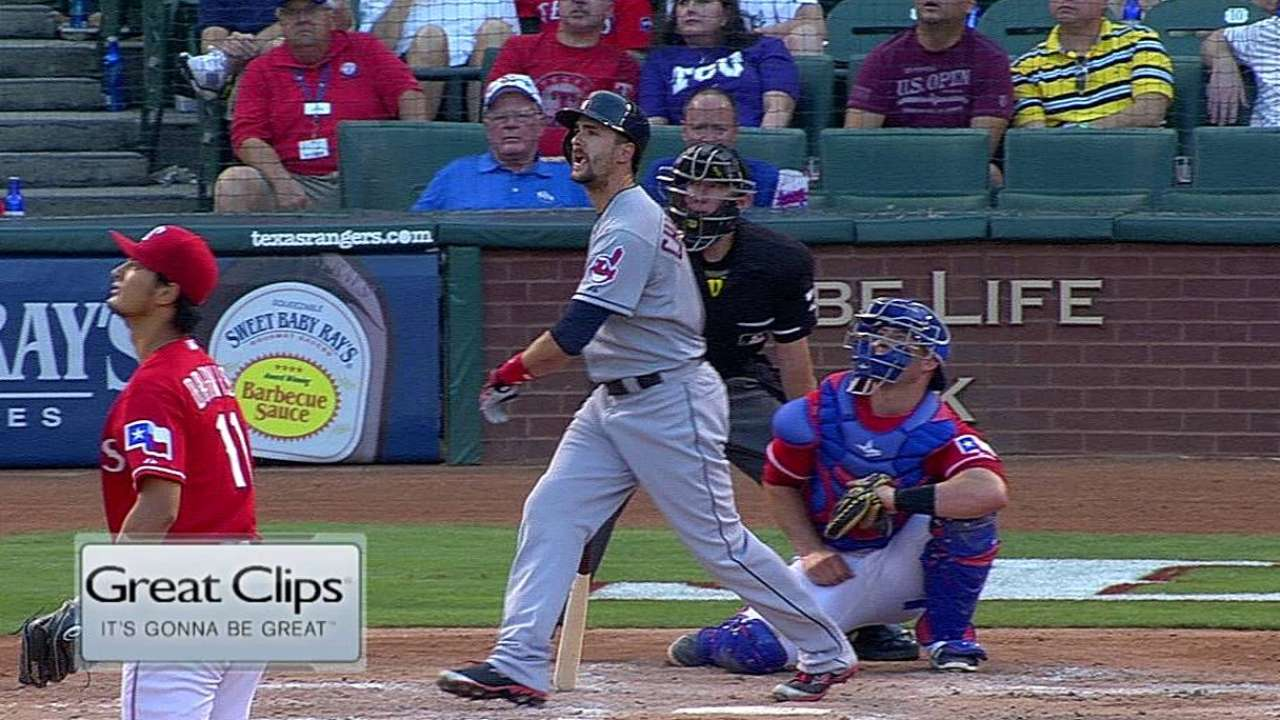 Chisenhall providing spark in Tribe's lineup