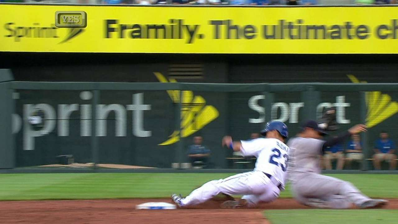 Yanks win challenge on overturned steal call
