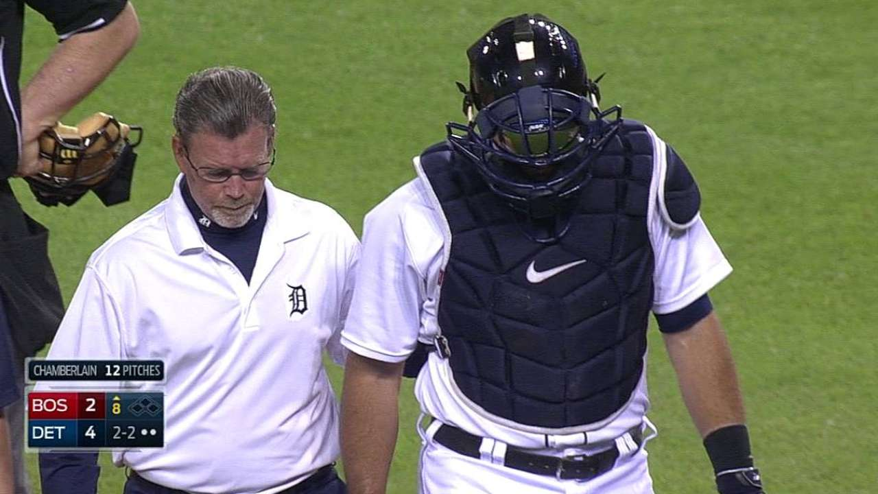 Ausmus says Avila sustained mild concussion