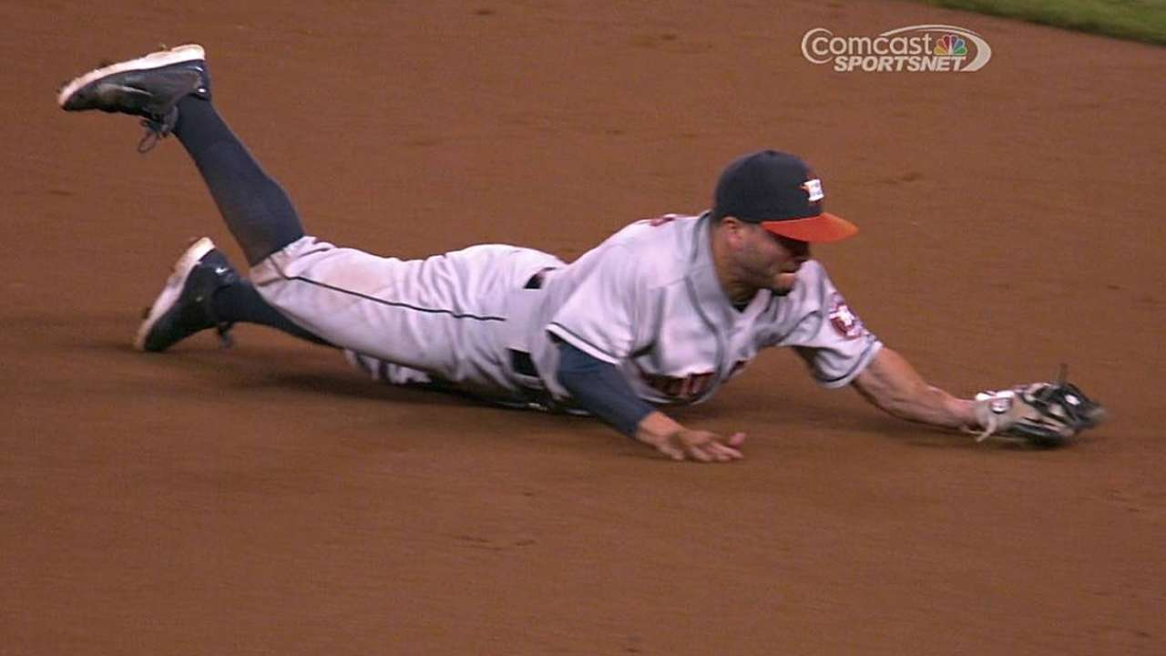 Astros staying grounded amid hot stretch