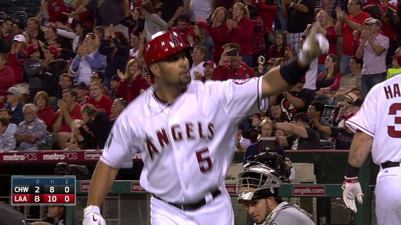 Pujols opens up about struggles