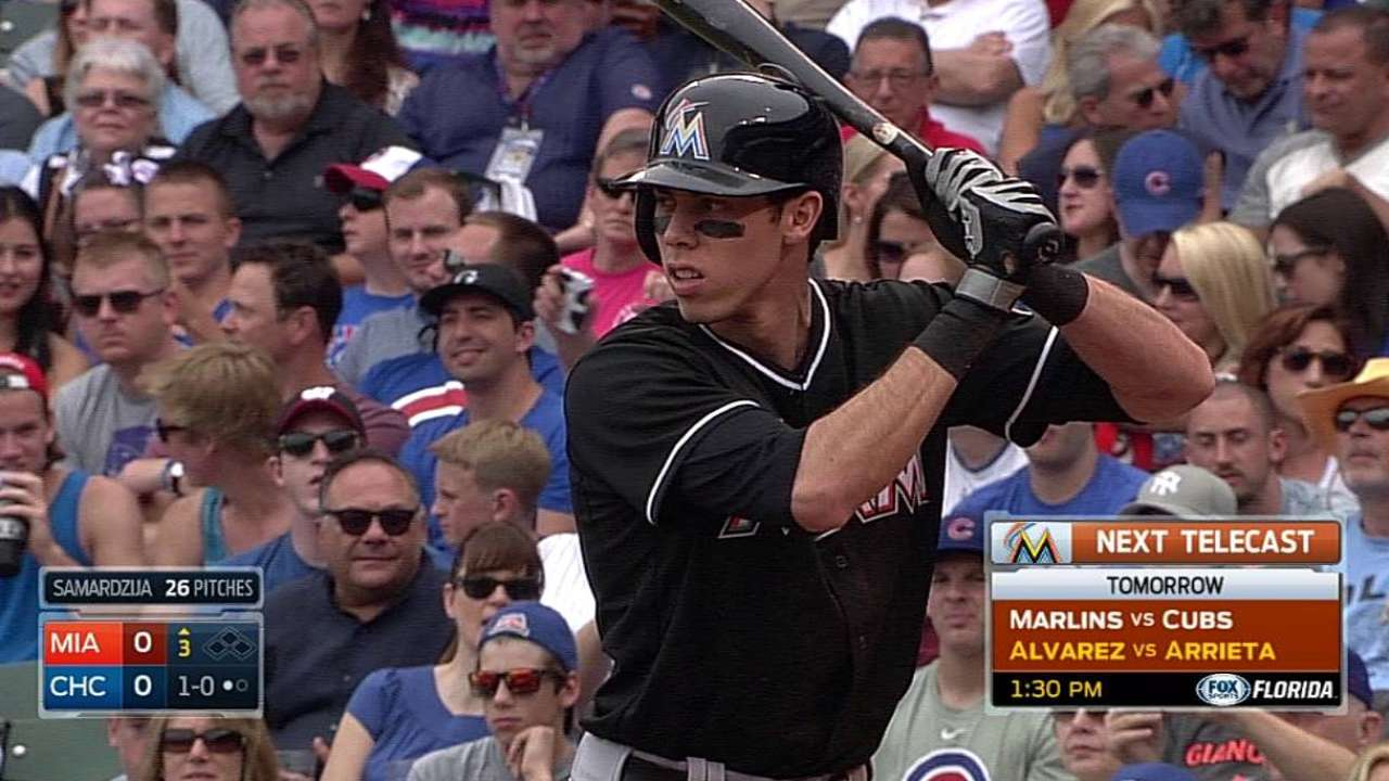 Yelich showing signs of breaking out of slump