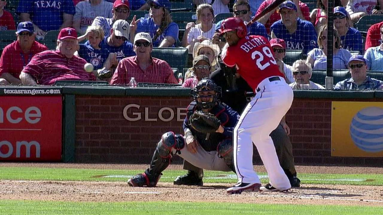 Beltre drops to fourth among AL third basemen