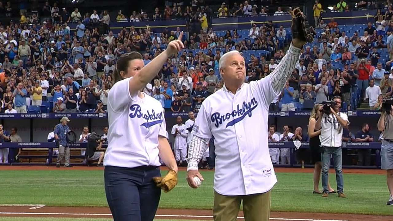 Rays honor Don Zimmer