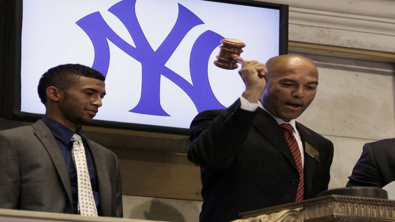 Yankees draft Mariano's son in 29th round