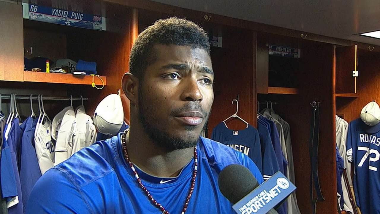 Puig, Gordon don't expect to be out long
