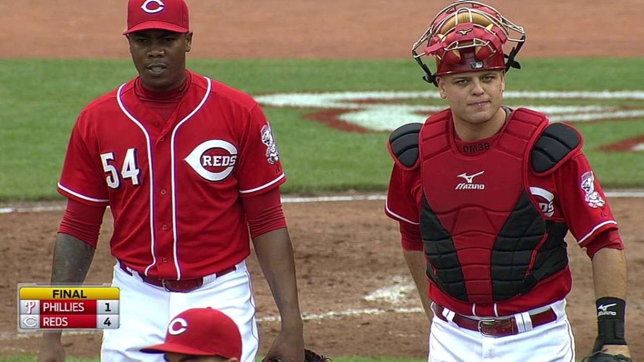 Chapman adds slider to devastating arsenal