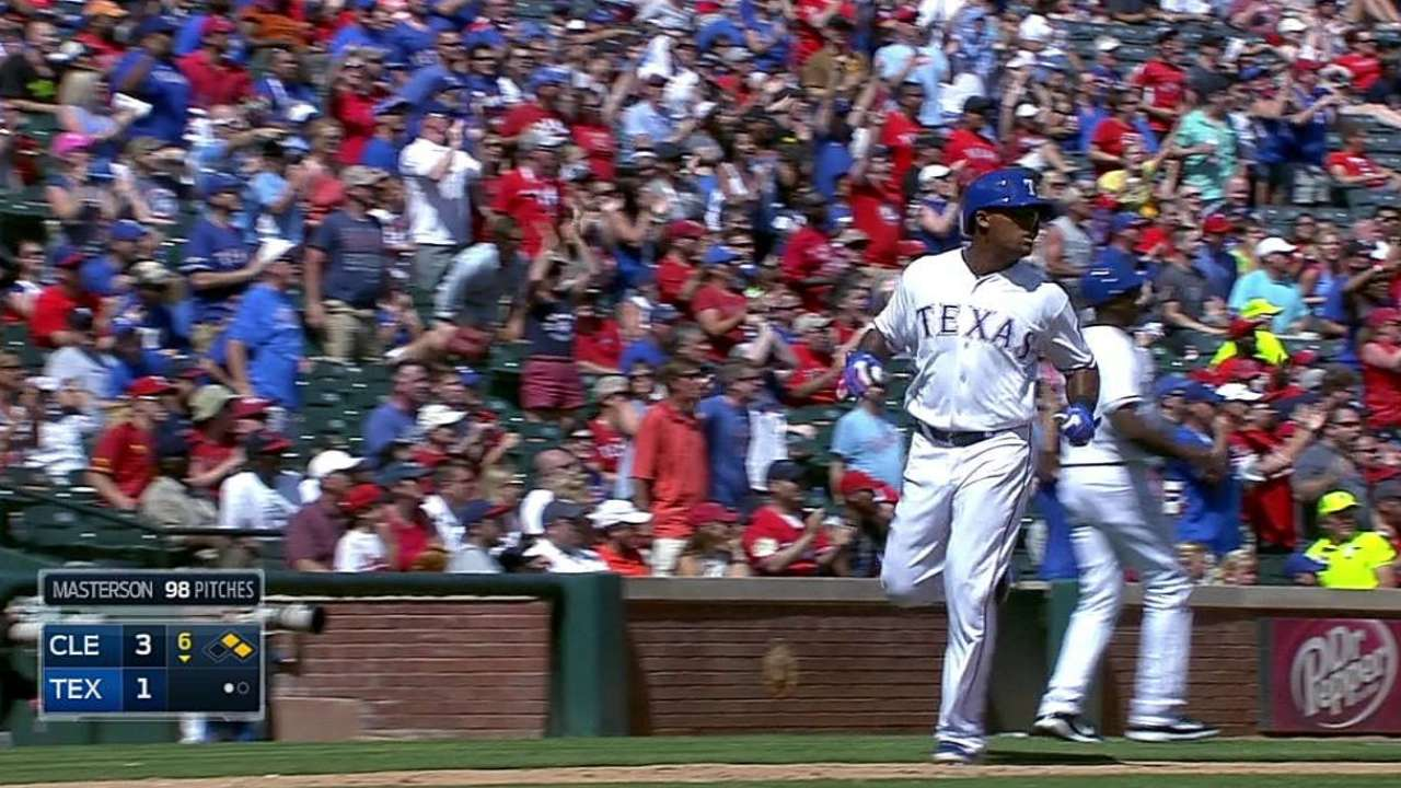 Rangers dealt another injury during loss to Tribe