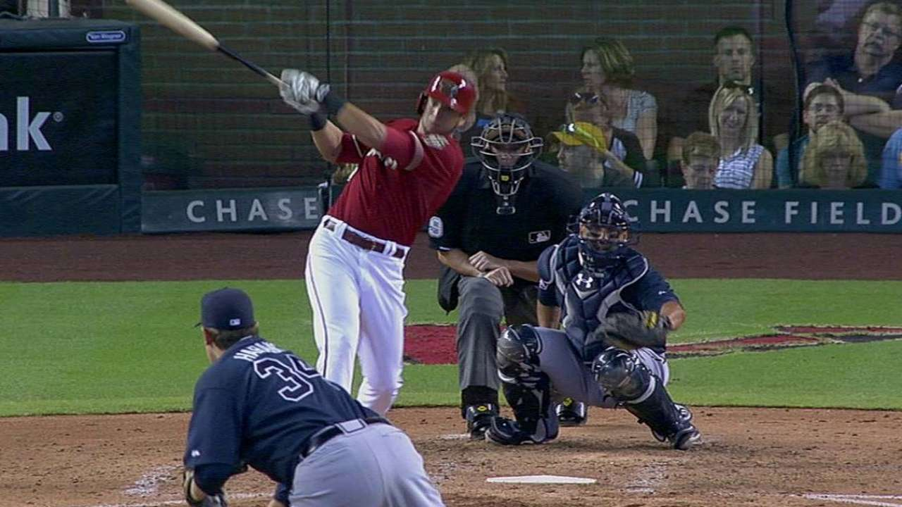 Peralta making strong first impression with D-backs
