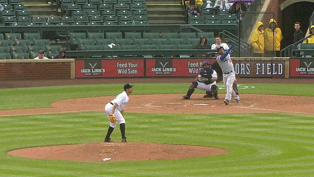 Kershaw ponchó a nueve y guió a Dodgers en Denver