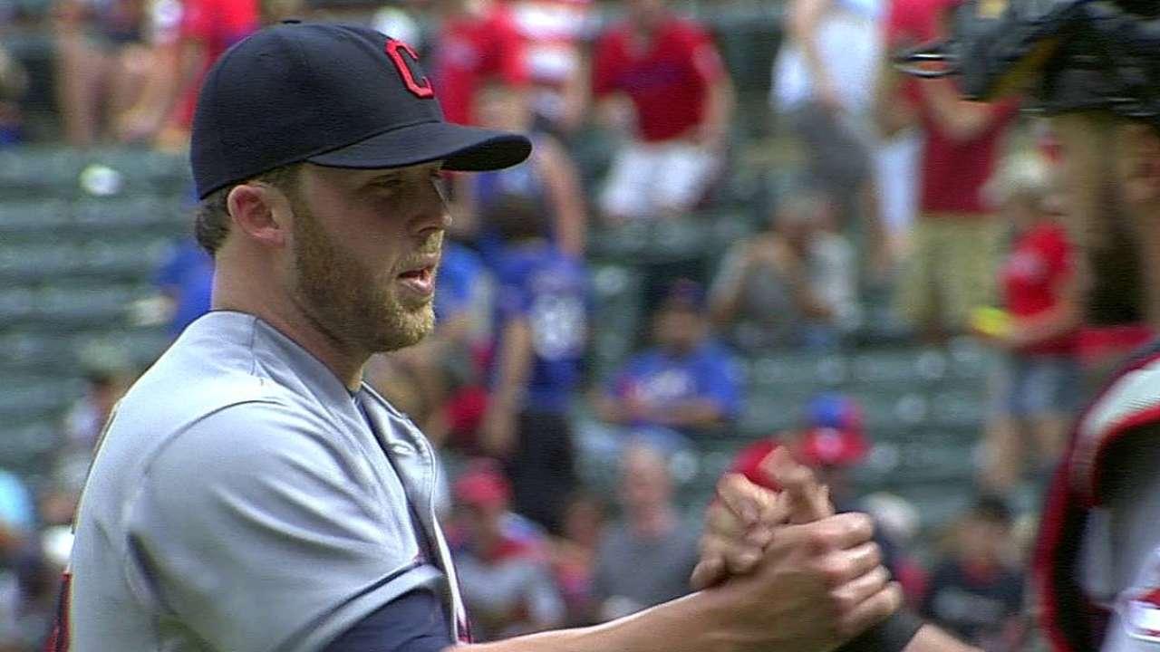 Allen shows knack for ninth-inning effectiveness