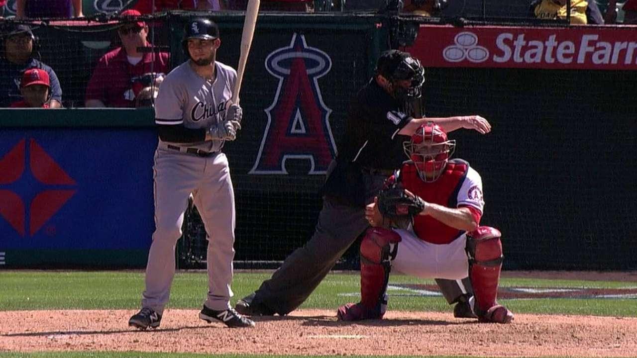 White Sox sufrieron barrida a manos de Angelinos