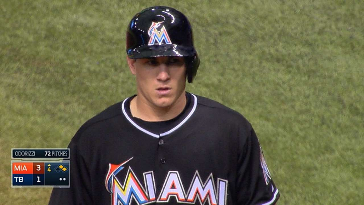 Bour, Realmuto make MLB debuts in St. Pete