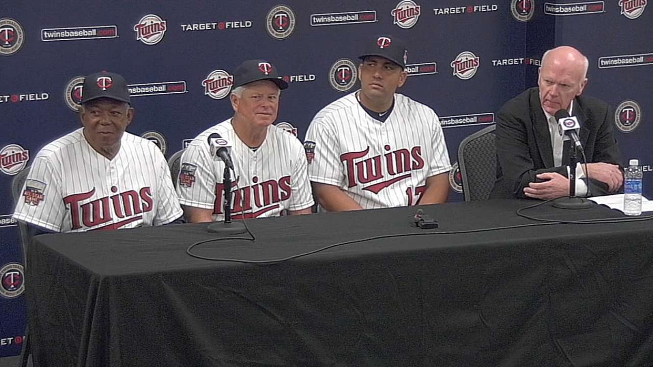 Twins happy to add Morales' powerful bat