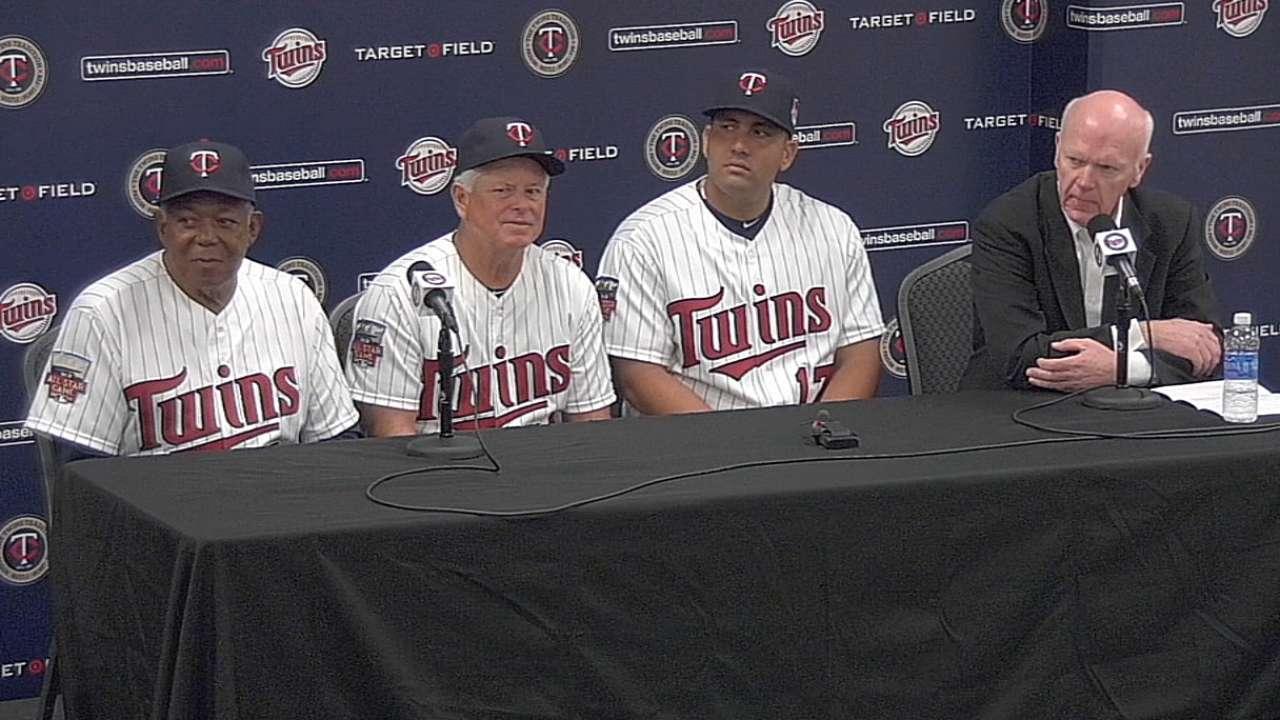 Twins happy to add Morales' powerful bat
