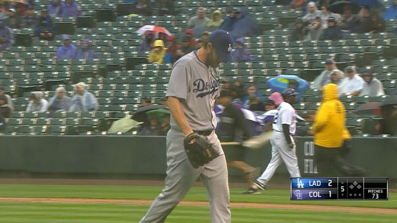 Kershaw maintains his man-on-a-mission mode