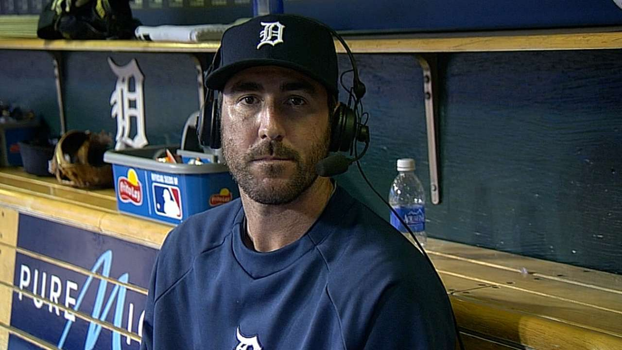 Rainout pushes Verlander's start to Wednesday