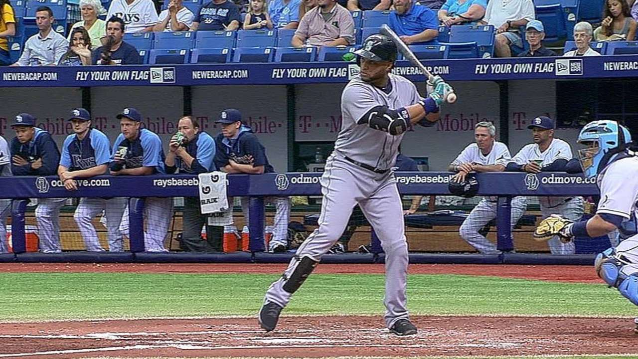 Canó empujó dos y Seattle blanqueó a Tampa Bay