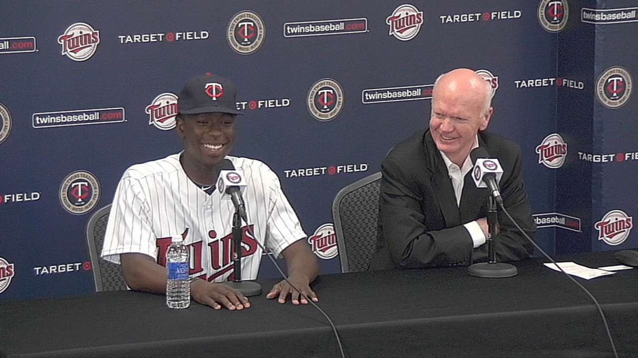 Gardenhire reflects on first-round pick Gordon