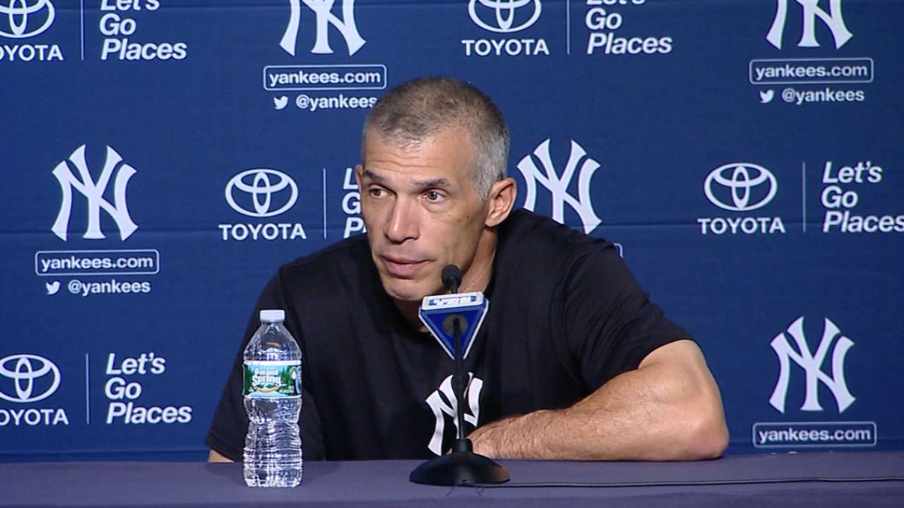 Girardi optimistic Yanks' bats will soon break out